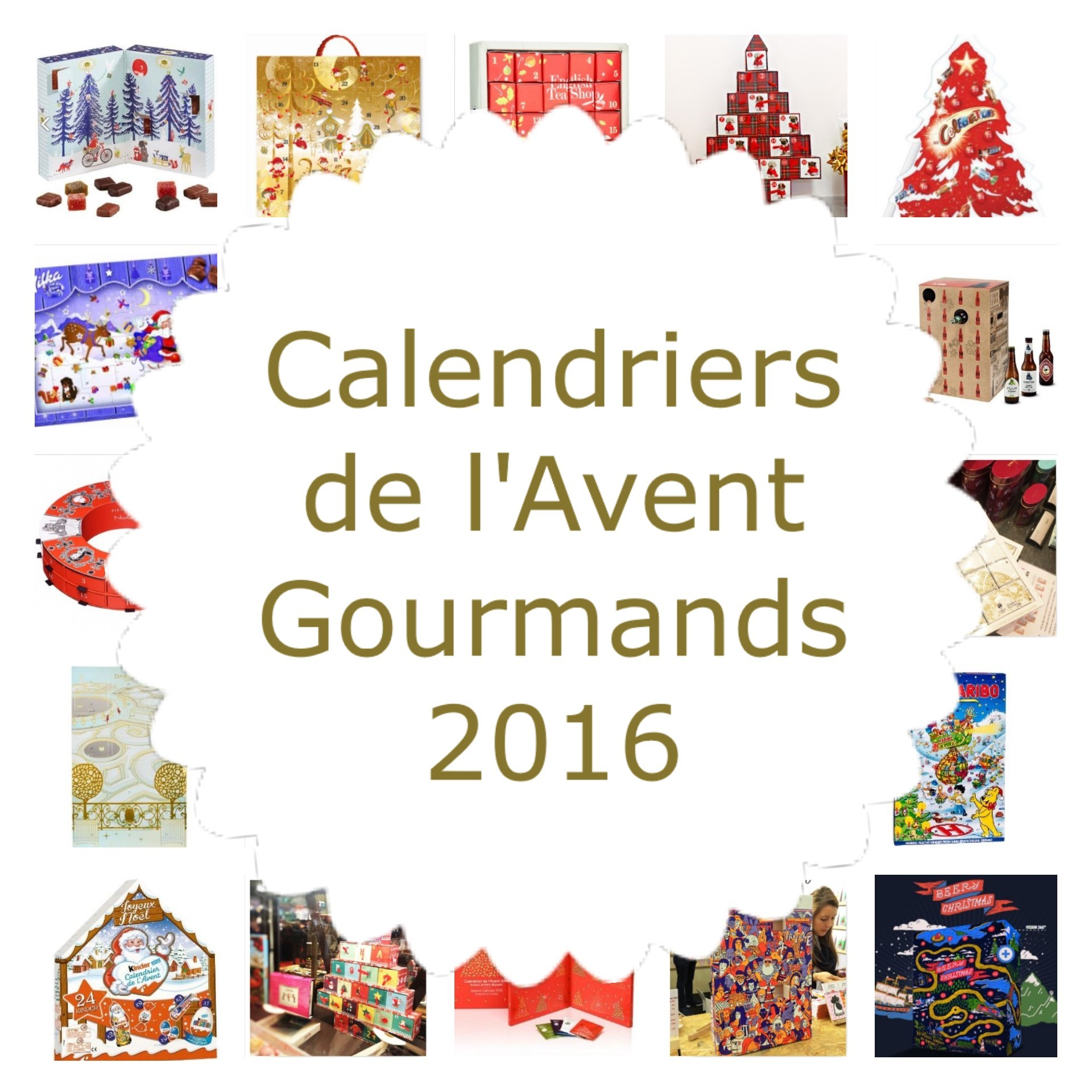 20 calendriers de l 39 avent gourmands 2016 chocolat bi res. Black Bedroom Furniture Sets. Home Design Ideas
