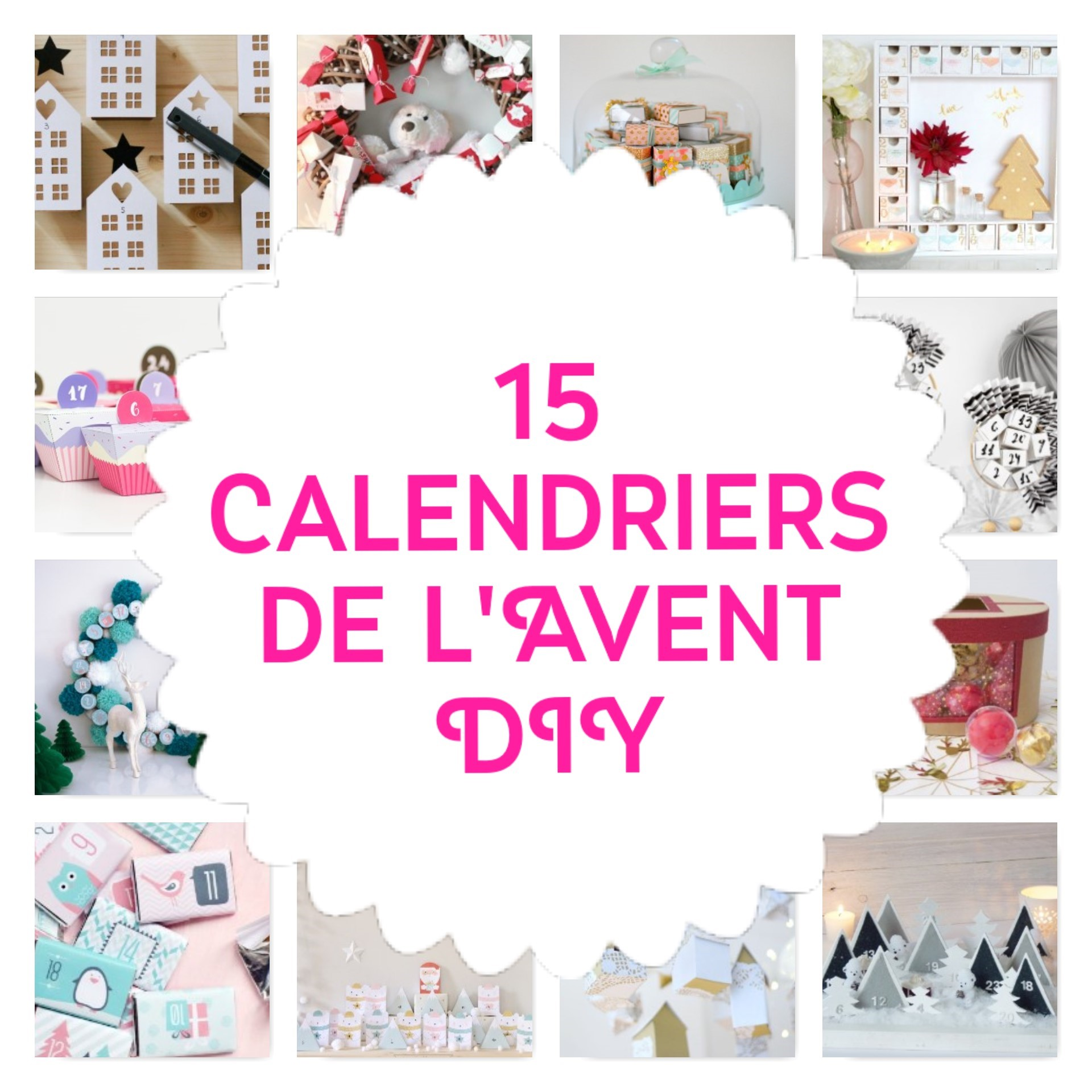 calendrier de l 39 avent 2016 faire soi m me diy. Black Bedroom Furniture Sets. Home Design Ideas