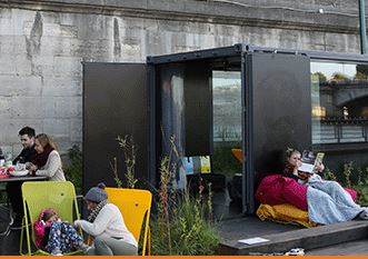 Réservez un petit coin de calme sur les Berges de Seine