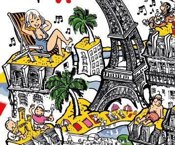 L'été à Paris : bons plans sorties, animations et activités gratuites !