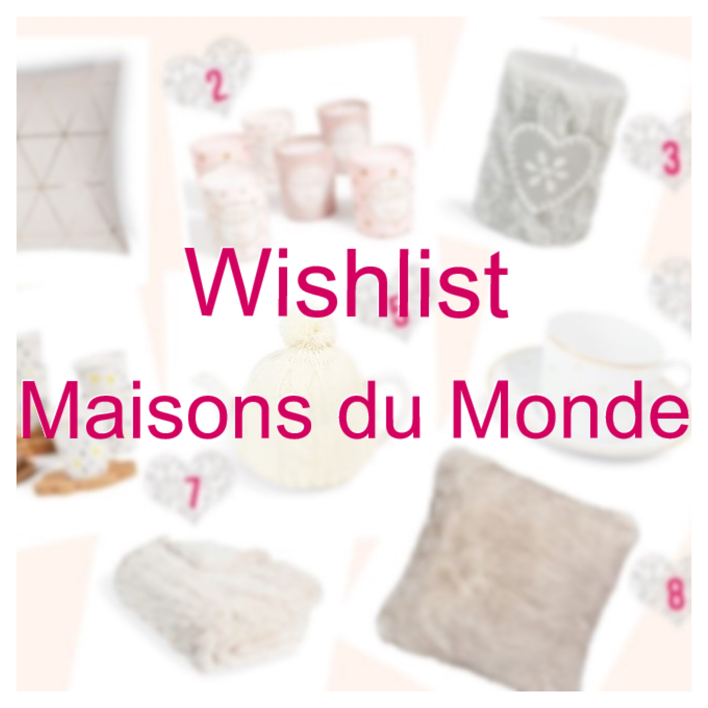 maisons du monde ma wishlist de no l copines de bons plans. Black Bedroom Furniture Sets. Home Design Ideas