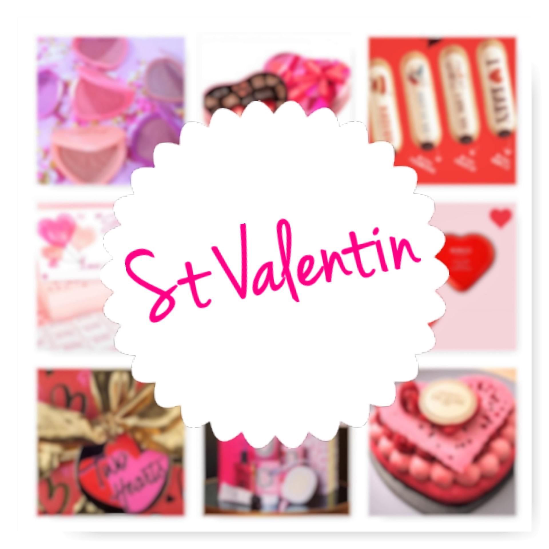 SAINT VALENTIN, cœurs roses et mignonneries en pagaille !