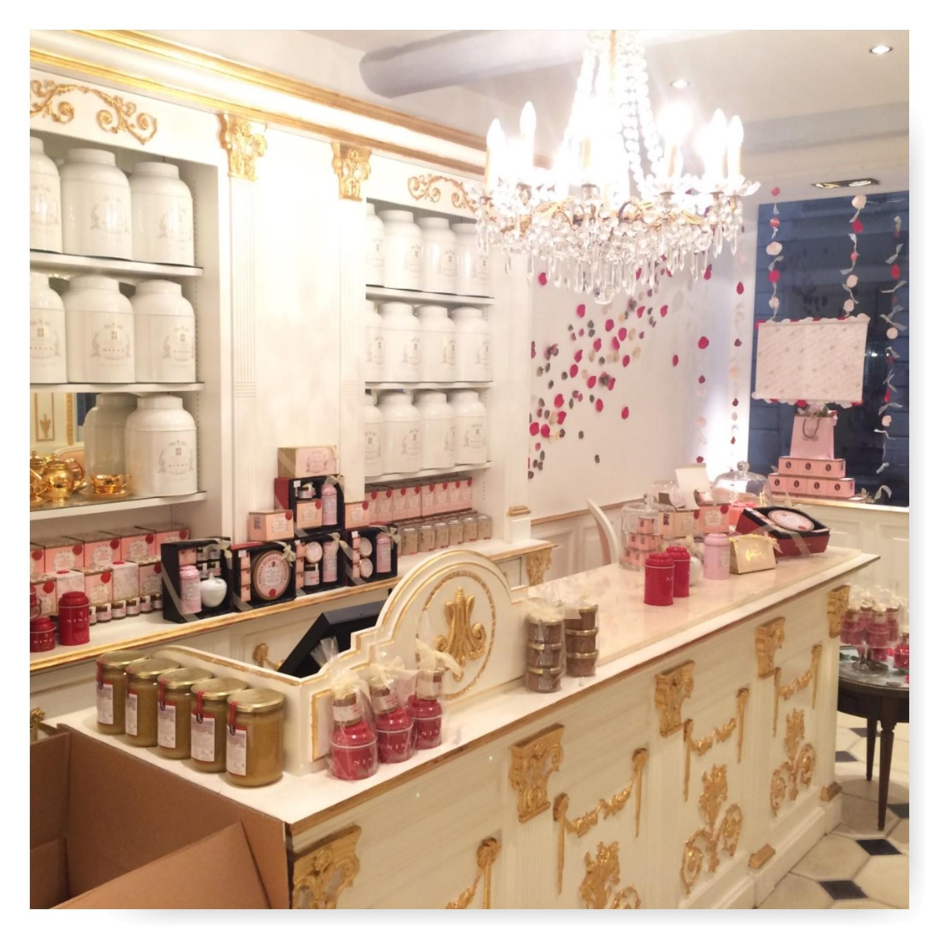 Nina S Paris Mon Avis Sur Le Salon De Th De Marie Antoinette  # Salon De Jardin Stokomani