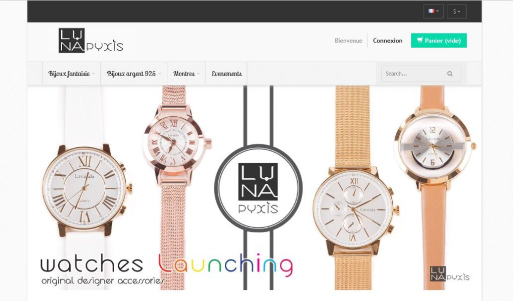 E-shop luna pyxis