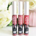 avis rouges à lèvres the balm meet matt hugues