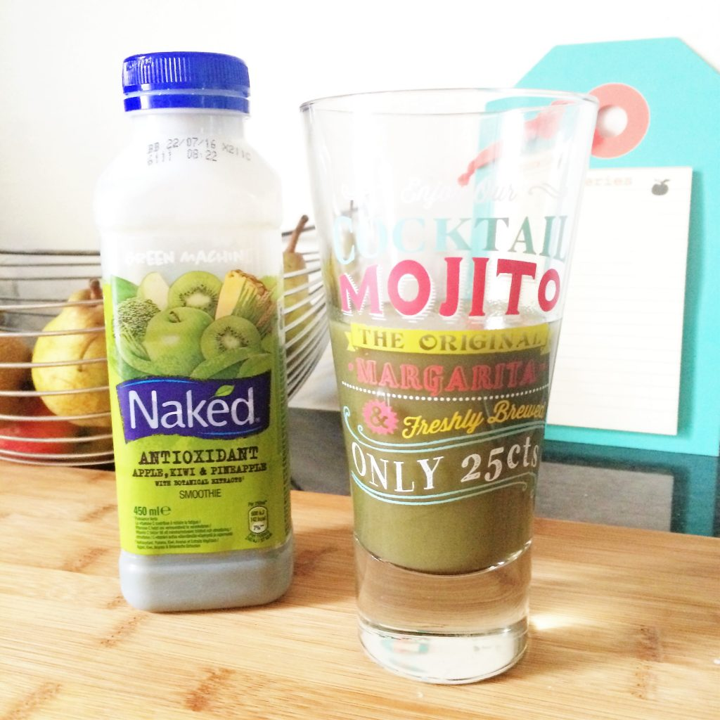 smoothie naked