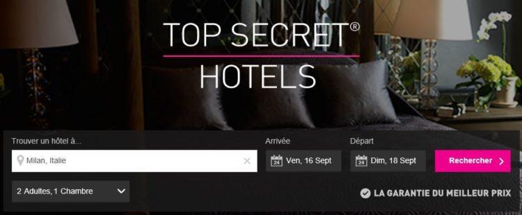 Hotels Mystères Last Minute