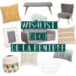 Wishlist Deco Maisons du Monde