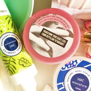 gommage corps soap & glory flake away