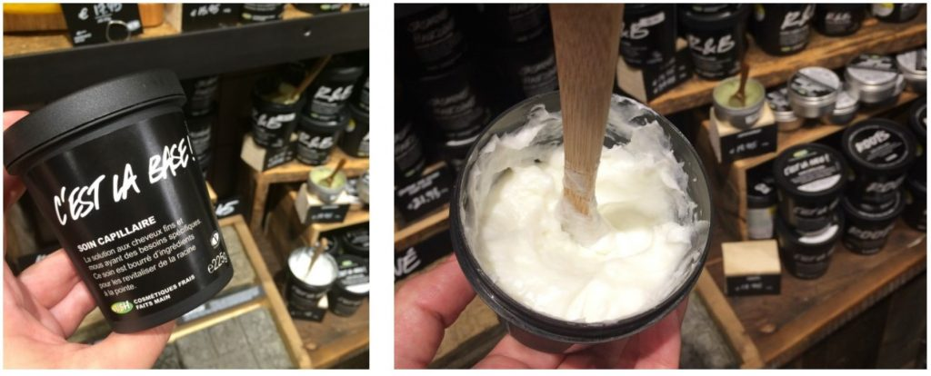 LUSH masque capillaire ROOTS