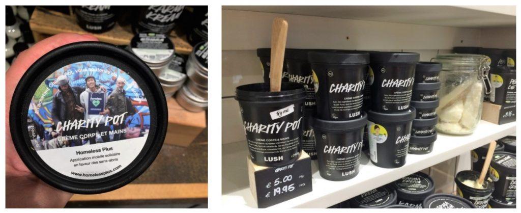 LUSH Charity Pots