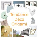 Tendance déco Origami