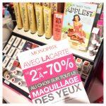 promotions maquillage monoprix