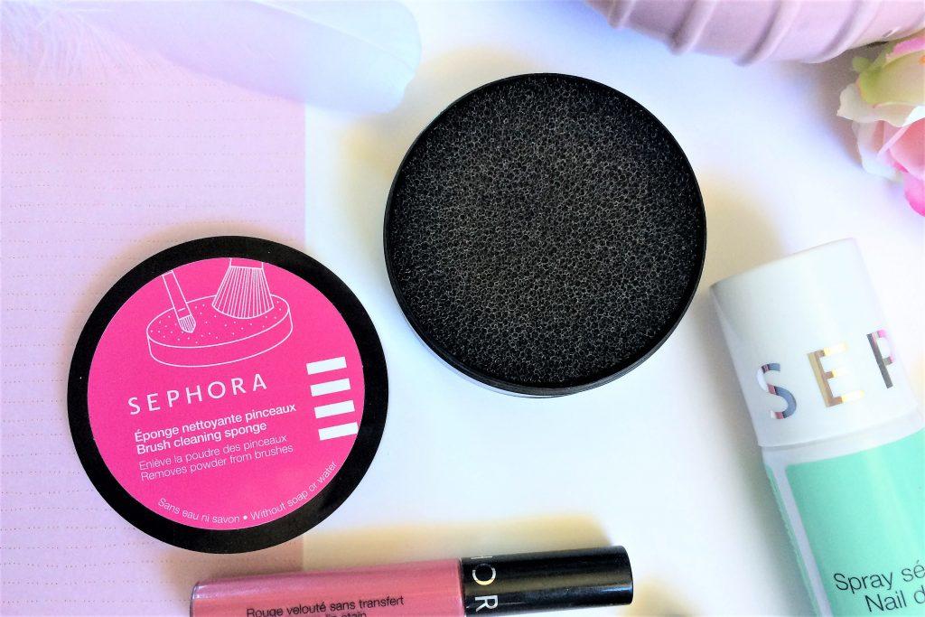 maquillage sephora eponge nettoyante