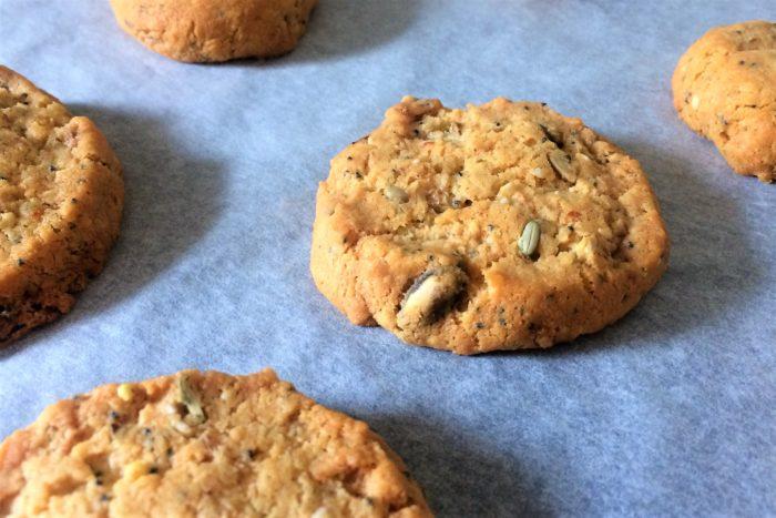 Cookies aperitifs parmesan et graines 2