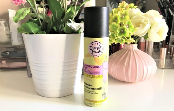 Energie fruit Shampoing sec Citron et camomille