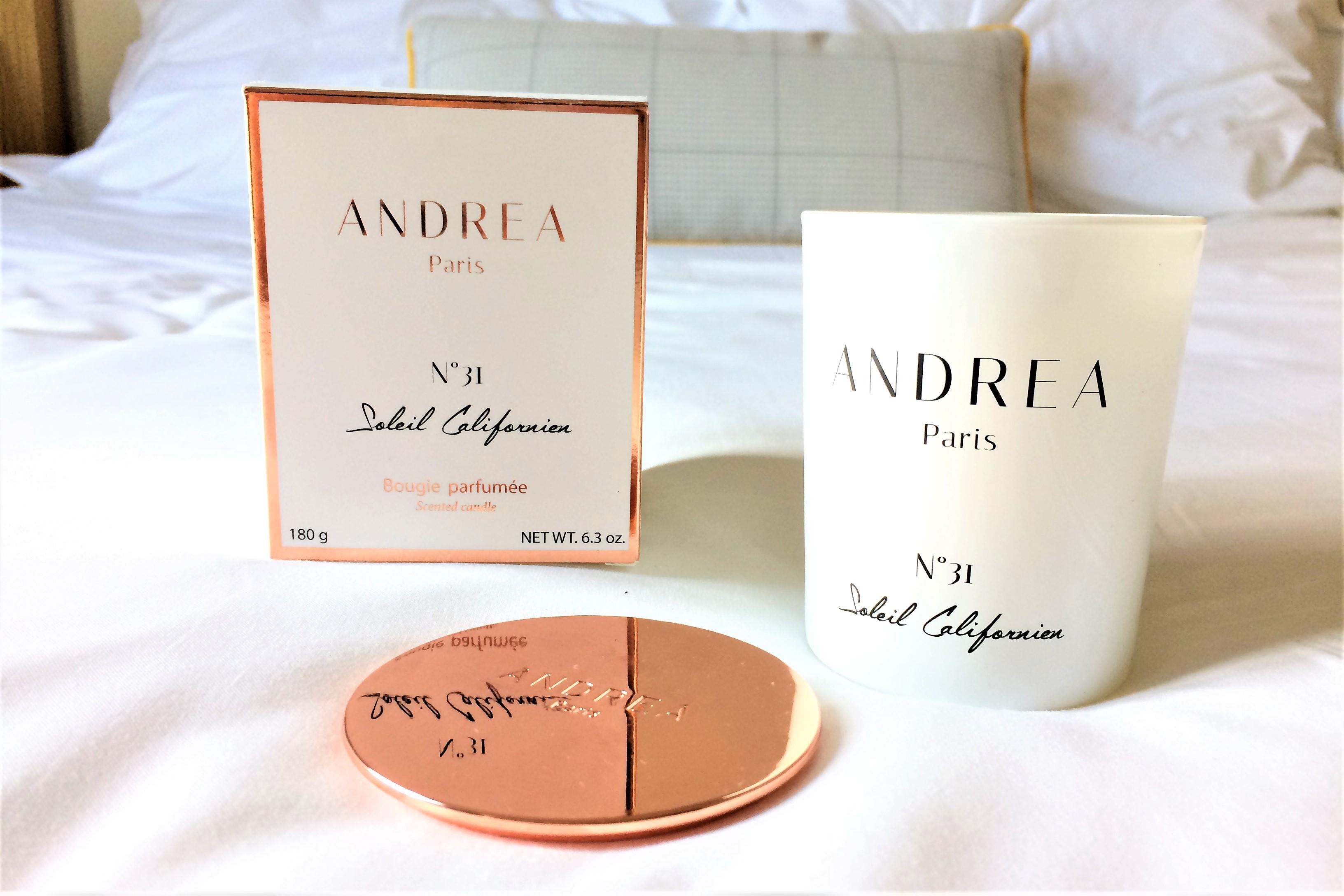 Bougies non toxiques - Andrea Paris