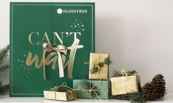 GLOSSYBOX - Calendrier avent beaute 2017