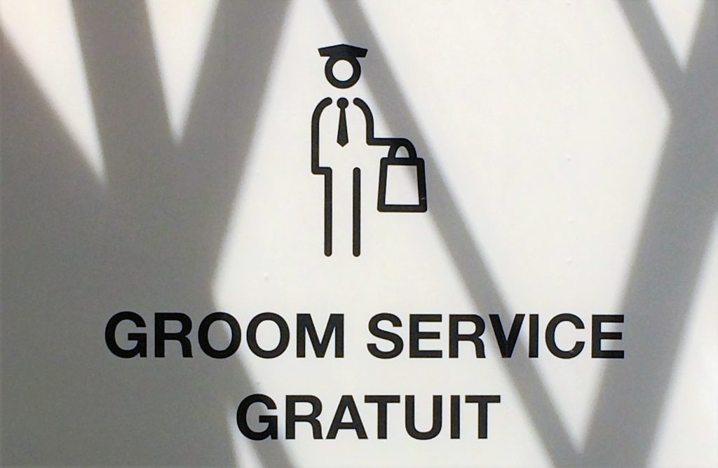 Groom Service Gratuit parly2
