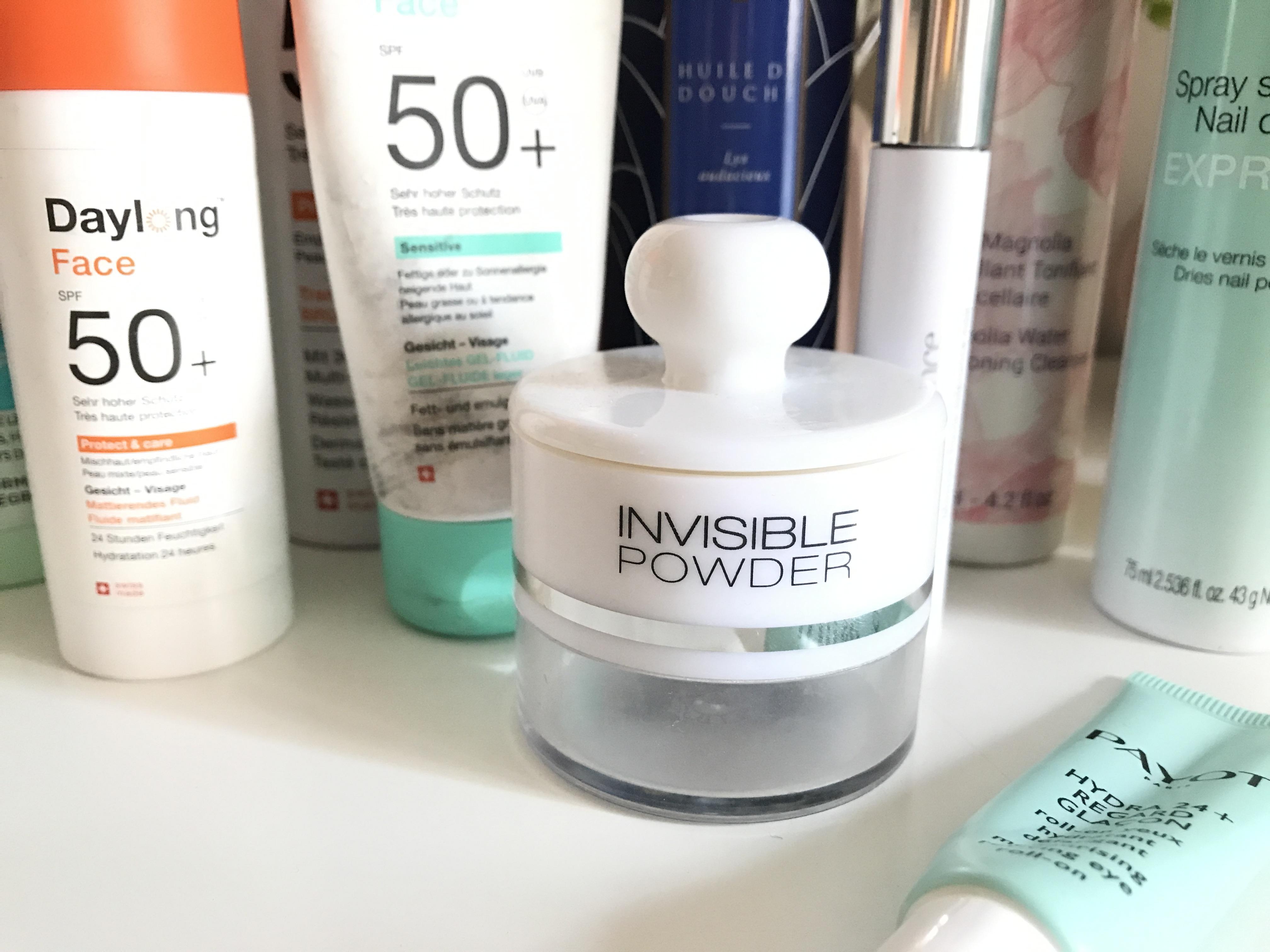 invisible powder kiko