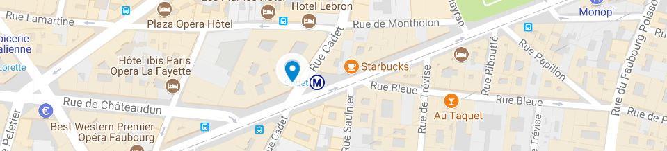 CARLANCE - Institu Rue Cadet Paris