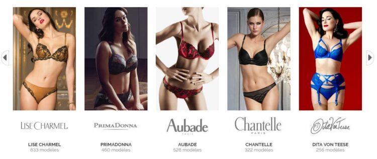 glamuse.com marques disponibles