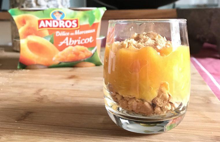 Les compotes Andros, mes goûters et desserts régressifs
