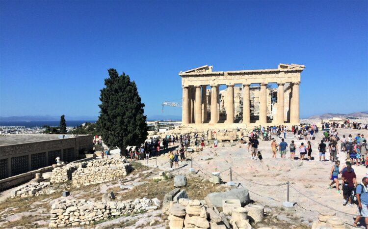 voyage en Grèce athenes acropole 2
