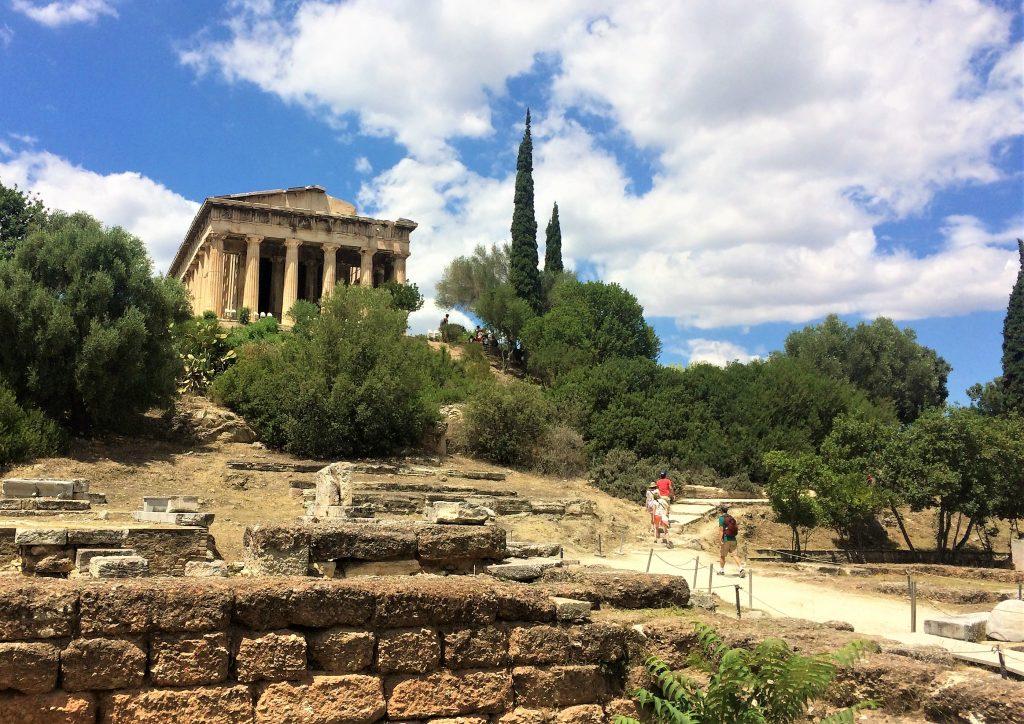 voyage en Grèce athenes acropole 5