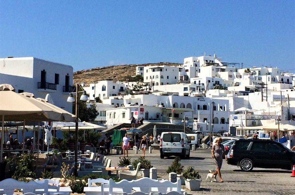 voyage en Grèce paros naousa
