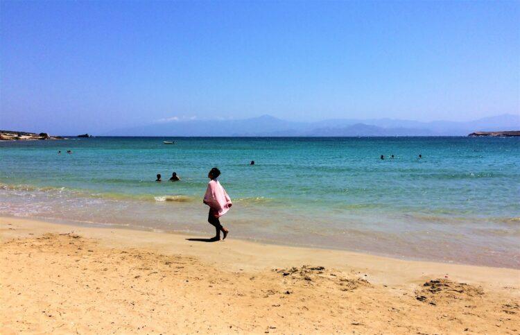 voyage en Grèce paros plage 1