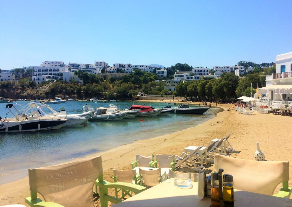 voyage en Grèce paros plage
