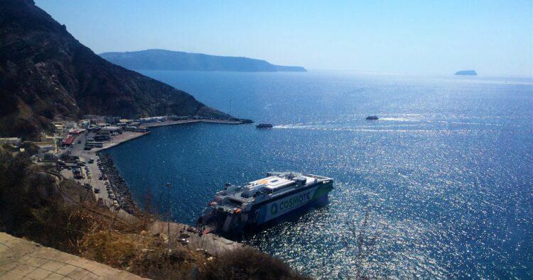voyage en Grèce santorin