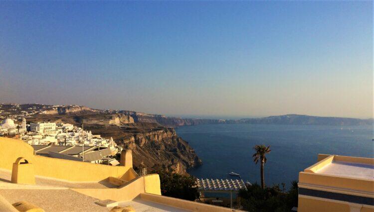 voyage en Grèce santorin fira