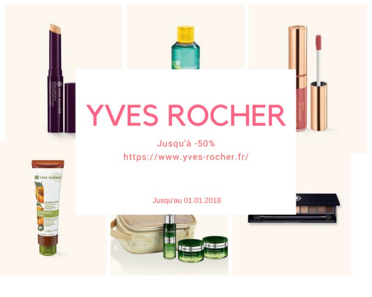 Black Friday 2017 Yves Rocher