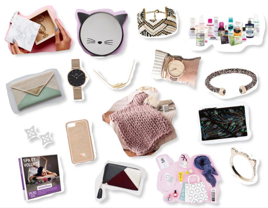 Idees cadeaux femme bijoux sacs accessoires