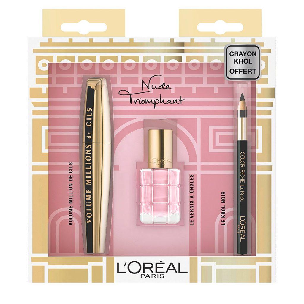 LOREAL - Coffret nude triomphant