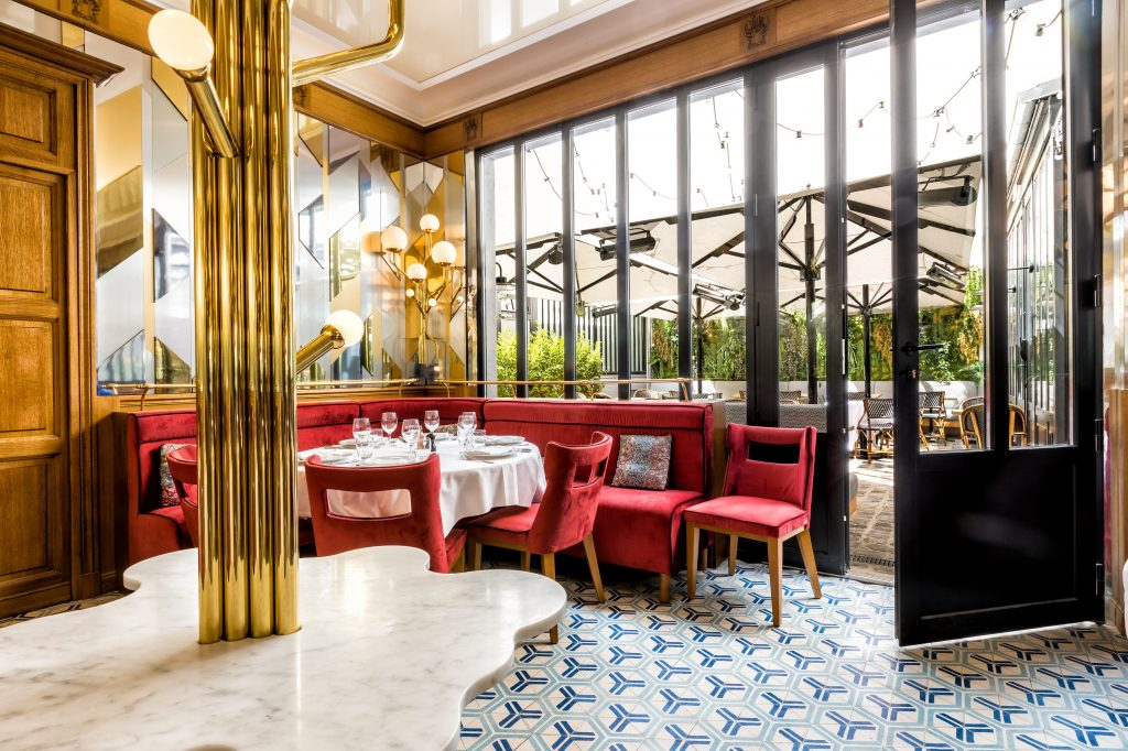 restaurant au boeuf couronne paris