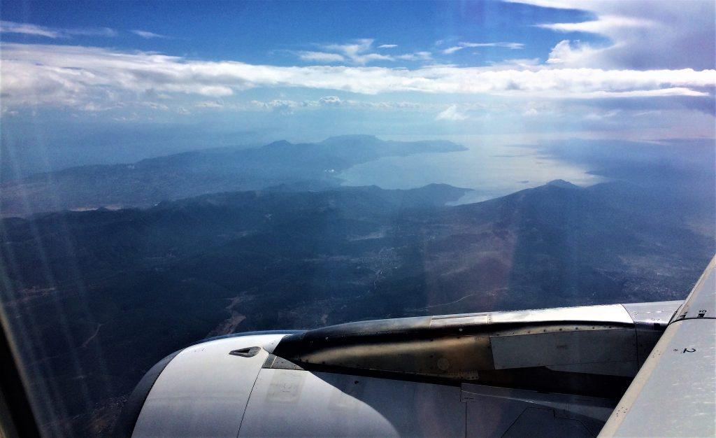 vol avion grece