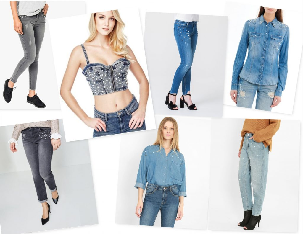 jeans a perles