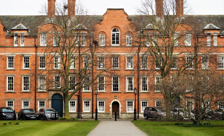 Irlande dublin trinity college
