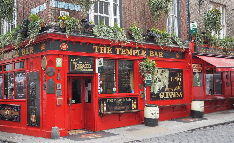 dublin the temple bar