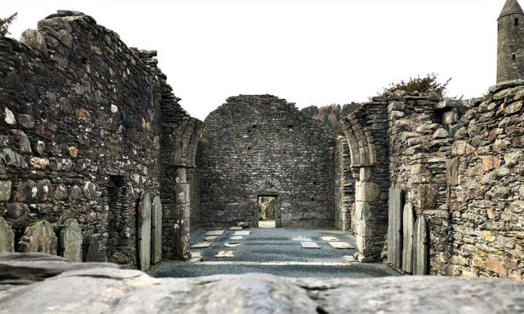 glendalough ruines
