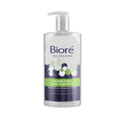 BIORE – Nettoyant Pores en profondeur au Bicarbonate de soude