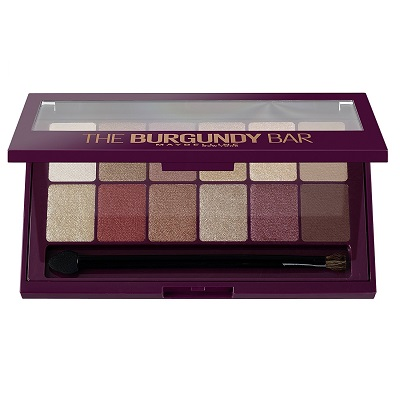 MAYBELLINE - Palette fards a paupieres the burgundy bar