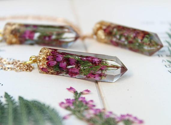 bijoux fleurs ETSY
