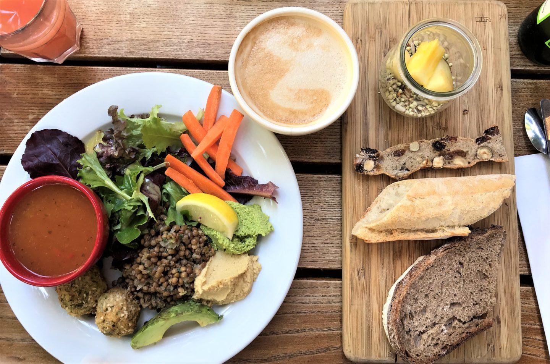 brunch vegan le pain quotidien