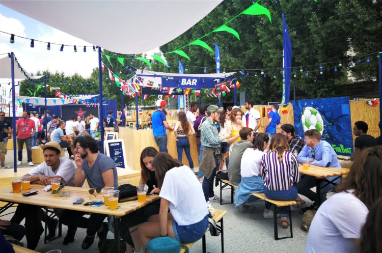 Coupe du Monde 2018 : FanZone sur le FanBoat ParionsSport