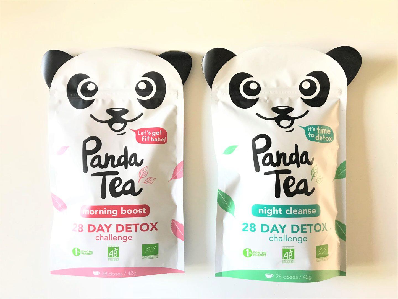 cure the detox panda tea