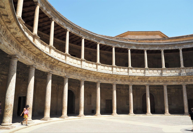 alhambra grenade palais charles quint